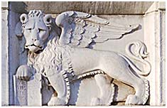 the winged lion symbol of venice influence